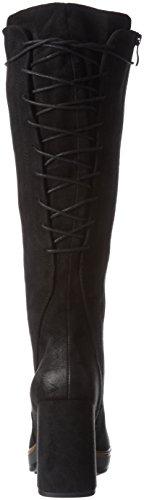 Marco Tozzi 25639, Bottes longues Femme Noir (BLACK ANTIC 002)