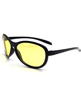 Oule - Gafas de sol - para mujer negro negro/amarillo
