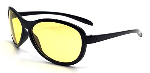 Nachtsichtbrille Kontrast-Verstärkend UV380 Unisex Kontrast-Brille