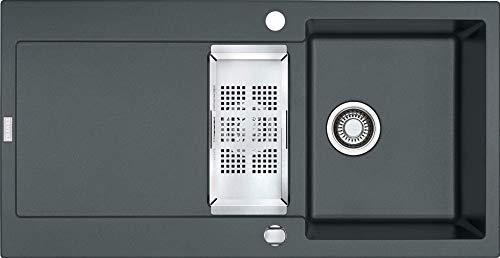 Franke Maris MRG 651 Graphit Granit-Spüle Dunkelgrau Einbauspüle Küchenspüle