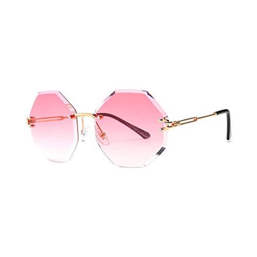 TYD.L Sonnenbrillen 1228 Hochwertige Materialien Frauen Mode Runde Form UV400 UV-Schutz Polarisierte Sonnenbrille Verwendet Für Fahren/Reisen/Outdoor 6 Farben (Farbe : K-2)