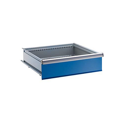 LISTA Schublade, für Schrank-BxT 717 x 725 mm, Traglast 75 kg, Fronthöhe 50 mm, enzianblau - Schubladenelemente Schubladen Schubladenelemente Schubladen Schubladenelemente Schubladen