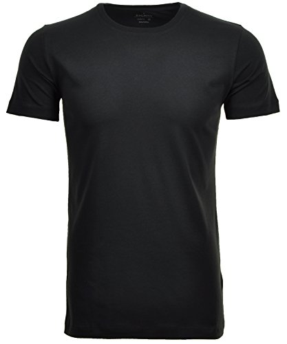 RAGMAN Herren 2 T-Shirt Doppelpack Bodyfit mit Rundhals (Qualität Hohe T-shirt)