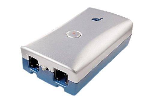 RETELL Pico linea singola registrazione chiamata - argento/blu