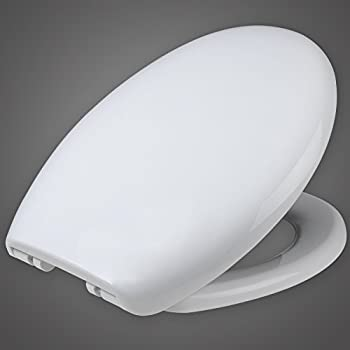 white toilet with black seat. WOLTU WS2542 Bathroom Washroom Restroom High Quality Quick Release Toilet  Seat Cover Lid Loo Lavatory with Slow Soft Close Hinge and Round Shape VINSANI SOFT SLOW CLOSE ROUND WHITE WC TOILET SEAT NEW IN BOX