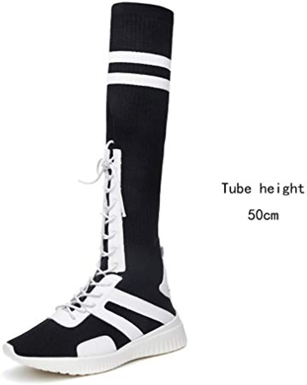 oroGOD Wind bianca rosso High Socks Socks Socks Calze Casual Scarpe Da Donna Collegio Wind Round Head Sport Piatto Scarpe Da... | Outlet  | Gentiluomo/Signora Scarpa  30b088