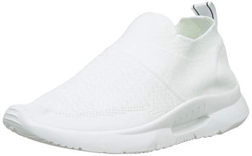 XTI 49098, Zapatillas sin Cordones para Mujer, Blanco (Blanco Blanco), 39 EU