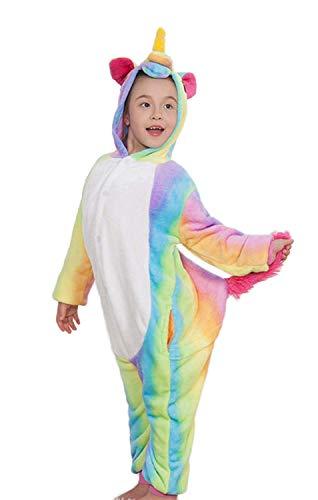 Pijama Animal Entero Unicornio para Mujer Hombre Disfraz para Navidad Niños Pijamas Unisexo Traje