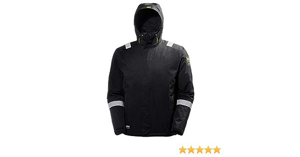 Helly Hansen Veste 71050 Aker Shell Jacket 979 Dark Grey//Black