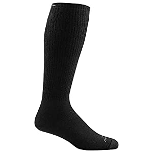 Darn Tough Tactical Over the Calf Extra Cushion Sock - Black Medium
