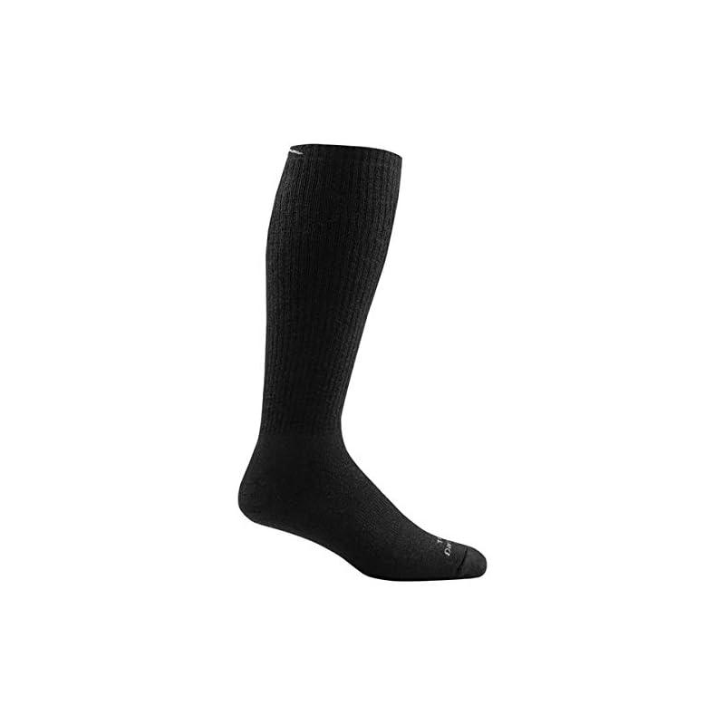 Darn Tough Tactical Over the Calf Extra Cushion Sock – Black Medium