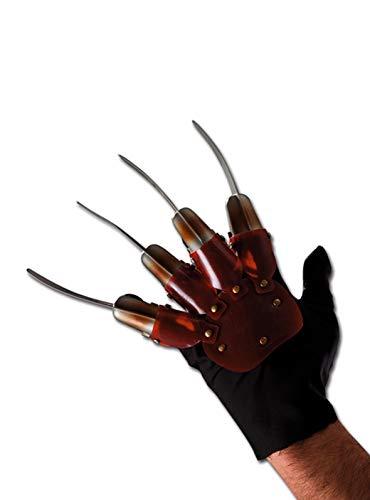 Handschuh mit lahmen Hand Krallen Freddy Krueger Kostüm - Freddy Krueger Hand Kostüm