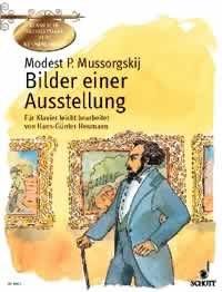 BILDER EINER AUSSTELLUNG - arrangiert für Klavier [Noten / Sheetmusic] Komponist: MUSSORGSKI MODEST aus der Reihe: KLASSISCHE MEISTERWERKE ZUM KENNENLERNEN