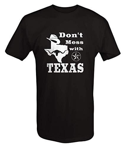 Don't Mess with Texas - Cowboy Austin Dallas Oil Longhorn Men's T Shirt