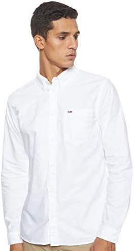 YIhujiuben Mens Dress Shirt Slim Luxury Printed Shirt Short Sleeve Button Down Shirts