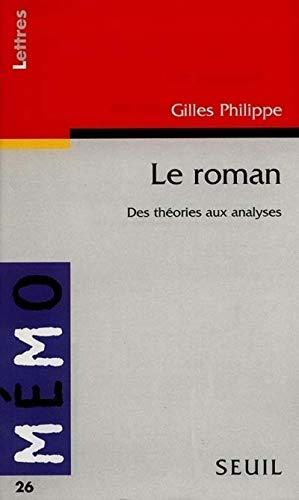 Le roman. Des théories aux analyses
