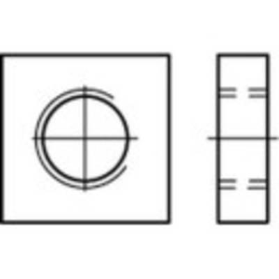 Toolcraft VIERKANTMUTTERN DIN 562 ES A4 M4 (100)