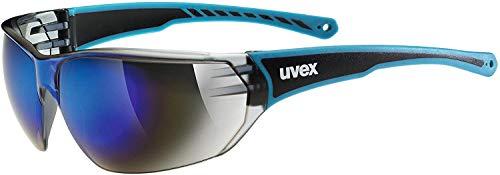 uvex Unisex- Erwachsene, sportstyle 204 Sportbrille, blue, one size
