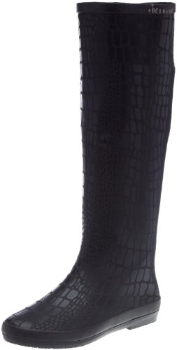 BE ONLY BOTTE SNAKIL, Stivali donna, Nero (Schwarz/Black), 36