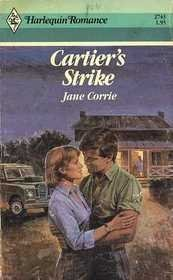 Cartier's Strike (Harlequin Romance) by Jane Corrie (1986-02-05)