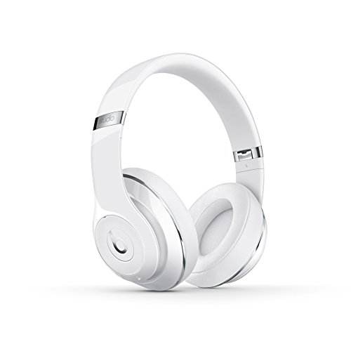 Beats by Dr. Dre Studio Wireless Casque supra auriculaire sans fil - Blanc Brillant