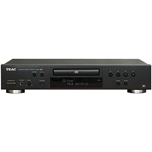 TEAC CD-P650 - Lettore CD con presa USB per masterizzare CD/interfaccia per iPhone/iPod, nero (Ricondizionato)