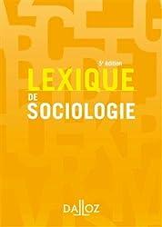 Lexique de sociologie - 5e éd.