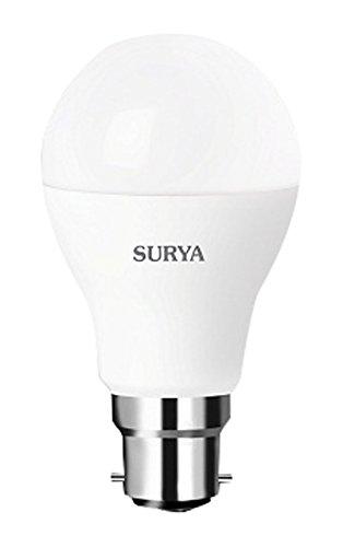 Surya Neo Base B22 7-Watt LED Lamp (White)