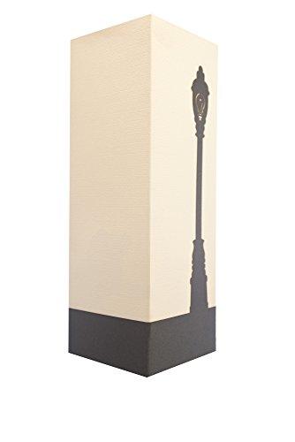 W-Lamp wl139shd Vespa-Möbel, Papier, creme, 11x 11x 32cm