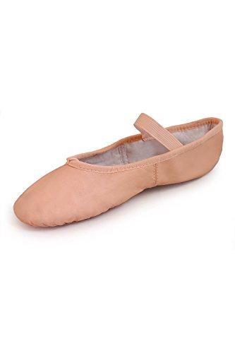 Bloch Dancesoft Ballettschuhe durchgehende Sohle 34 Schmal Rosa