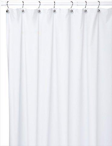 Carnation Home Fashions Jumbo lang Vinyl Duschvorhang Liner, 183cm von Beton, Super Clear von Carnation Home Fashions