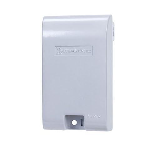 Intermatic WP1010MXD - Weatherproof Receptacle Cover - Single Gang -