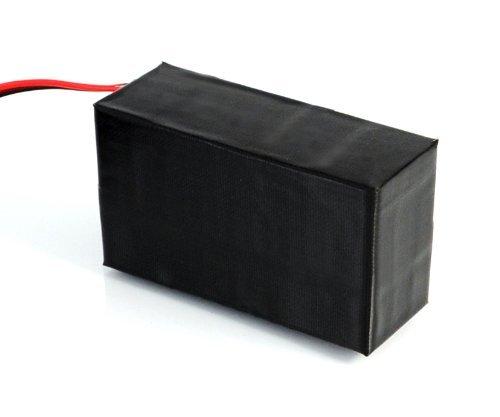 Incutex Hochleistungsakku, Ladegerät, Akku Pack, externes Batteriefach, Power Pack, Externer Akku für GPS Tracker Modell TK5000 (13.600mAh) Achtung STECKER!!!! (passt Nicht für Goldkontakt)