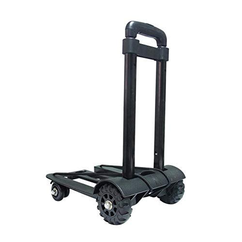 WYX KlappHand LKW Trolley, Maximum Laden Laden 4KG KlapperHand Dolly kann einkaufen, Business Travel, Cargo Handling, Gepäck (Falten Utility-dolly)