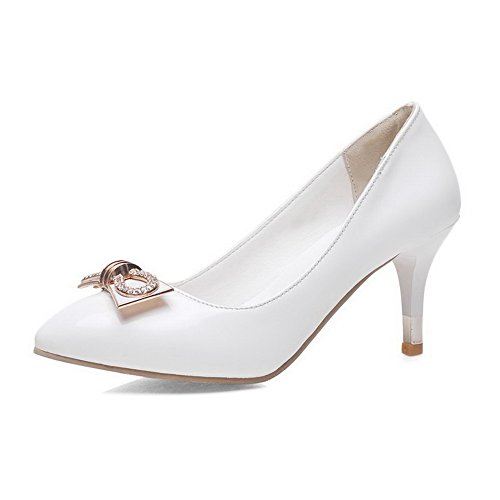 voguezone009-womens-pointed-closed-toe-high-heels-patent-leather-solid-pull-on-pumps-shoes-white-40