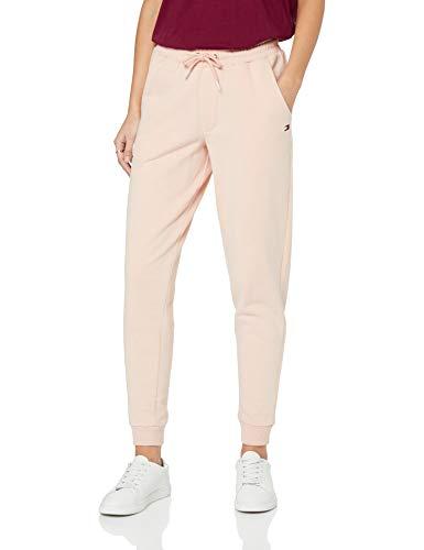 Athletic Track Pants (Tommy Hilfiger Damen Sporthose Track Pant, Rosa (Pale Blush 612), 38 (Herstellergröße: MD))