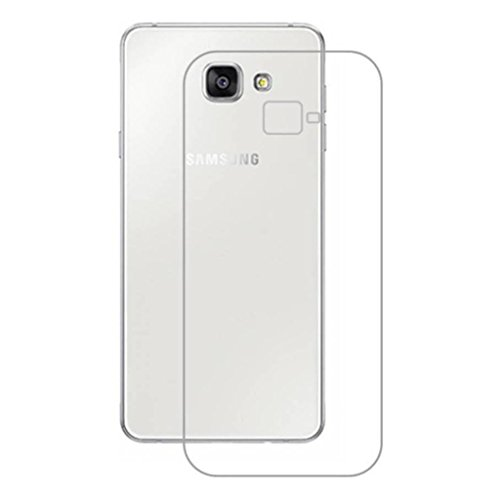 Noise Transparent Clear Silicone Jelly Soft Case Back Cover For Samsung Galaxy A5 (2017)  available at amazon for Rs.199