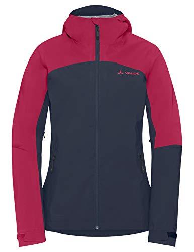 VAUDE Damen Moab Rain Jacket Regenjacke für Mountainbikerinnen Jacke, Blau (Eclipse), 42