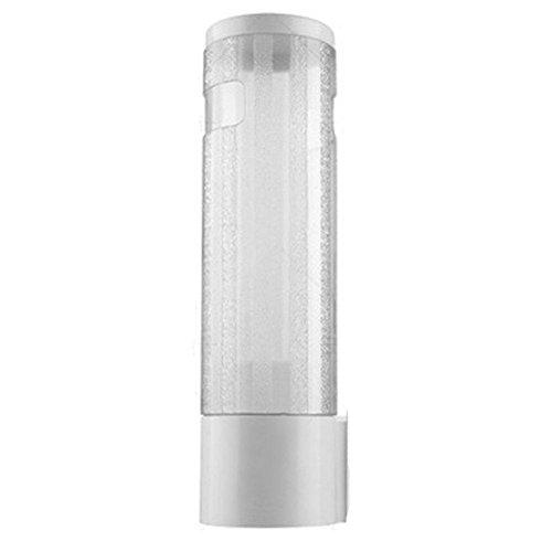 Wasser Cup Spender, kleinen pull-type Getränk Tasse Spender, Halten 50bis 60Papier Tassen, 33cm Tube Länge, transparent -