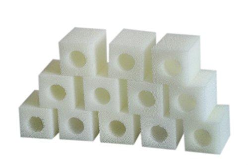 LTWHOME Filterschwamm für Eheim 2008 Pickup 60 Filter 2617080(12 Stück)