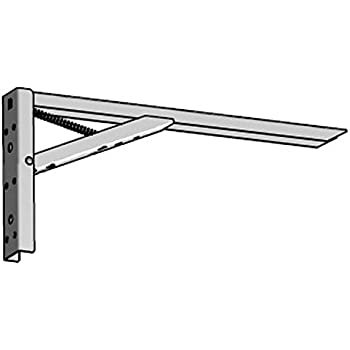 2 stck klappkonsole tischplatten klappbeschlag klapptrger weiss lackiert tragkraft 100 kg 817 - Klappkonsole Esstisch