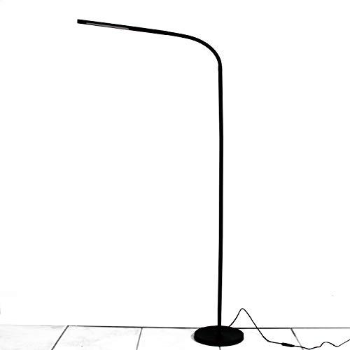 LIGHTEU, Stehlampe Stufenlose Dimmbar mit Flexiblem 6W Berührungssensorschalter, LED-Stehleuchte, langer verstellbarer Arm für Sofa/Office-Lesung Wohnzimmer Schlafzimmer -