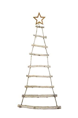 Moderner Hänger ~ Tanne ~ aus Holzstäben Weihnachten Advent Deko Tannenbaum