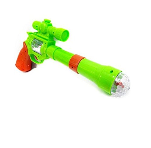 Shop & Shoppee Projection & Musical Strike Electric Toy Gun For Kids(Multicolor)