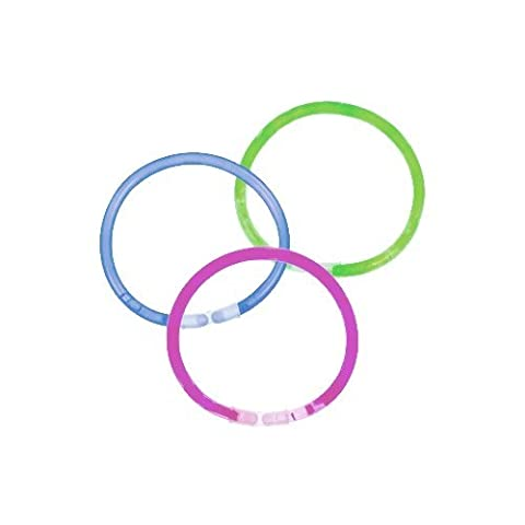 100 x Economy Light Bracelets