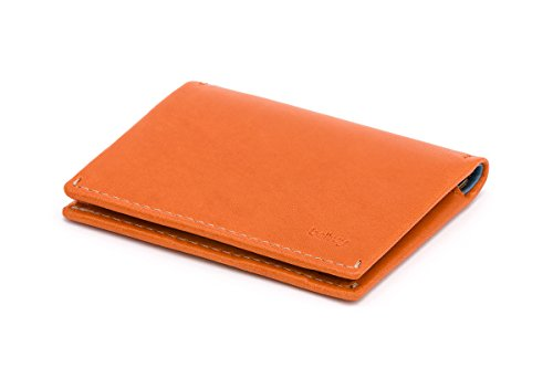 Bellroy Leather Slim Sleeve Wallet Burnt Orange