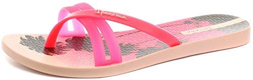 Ipanema Flip Print, Sandales Plateforme femme pink
