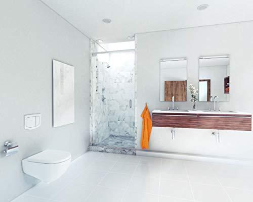 ETHERMA LAVA® Infrarotheizung Glasheizkörper 500 W 63 x 90 x 3 cm Oberfläche aus 6 mm Bild 2*
