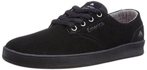 EmericaThe Romero - Scarpe da Skateboard Uomo Black/Black/Black