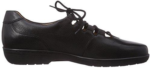 Ganter  ANKE, Weite G, pantoufles femmes Gris - Grau (schwarz 0100)